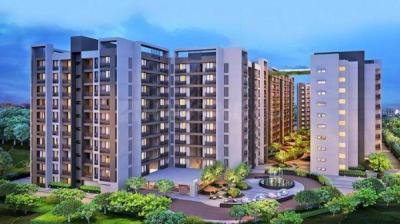 Gallery Cover Image of 1057 Sq.ft 2 BHK Apartment for rent in Arvind Skylands, Nehru Nagar for 20000