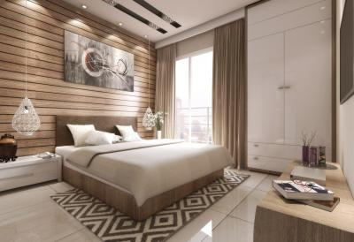 Gallery Cover Image of 608 Sq.ft 1 BHK Apartment for rent in Malad West for 25000