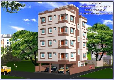 Gallery Cover Image of 802 Sq.ft 2 BHK Apartment for buy in South Dum Dum for 2937200