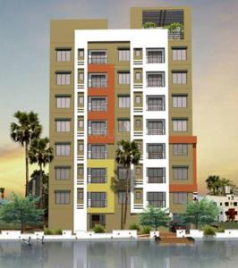 Gallery Cover Image of 1353 Sq.ft 3 BHK Apartment for buy in Daffodil Waterfront, Sarsuna for 6900000