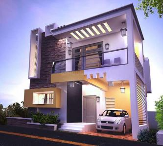 Gallery Cover Image of 1349 Sq.ft 3 BHK Independent House for buy in Kovur for 5350000