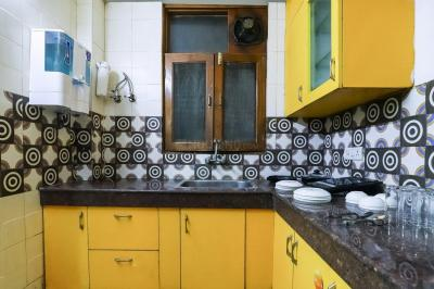 Kitchen Image of Oyo Life Nod665 in Sector 100