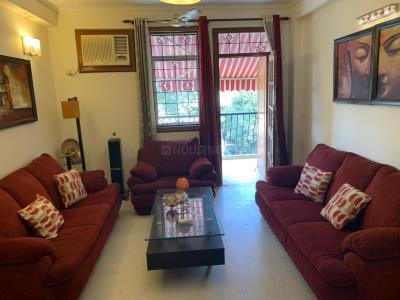 Gallery Cover Image of 2000 Sq.ft 3 BHK Apartment for rent in Sector 43 for 75000