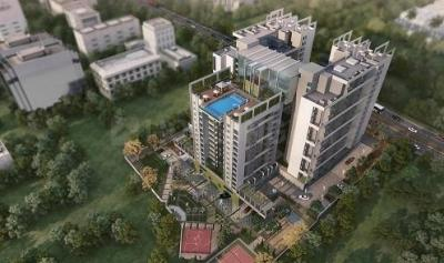 Gallery Cover Image of 1190 Sq.ft 2 BHK Apartment for buy in Vaishnavi Triniti, Hebbal Kempapura for 7497000