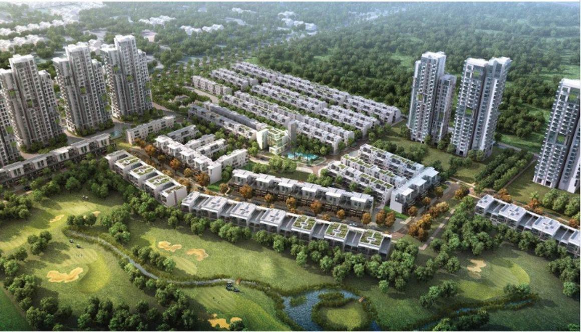 Building Image of 800 Sq.ft 1 BHK Apartment for buy in Jaypee Greens for 4200000