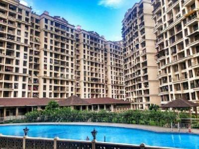 Gallery Cover Image of 675 Sq.ft 1 BHK Apartment for rent in Nisarg Hyde Park, Kharghar for 15000