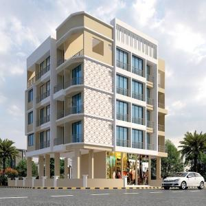 Gallery Cover Image of 588 Sq.ft 1 BHK Apartment for buy in Dronagiri for 2600000