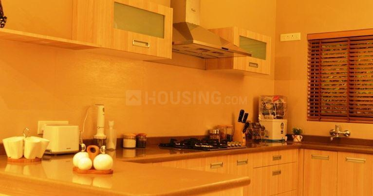 Kitchen Image of 2055 Sq.ft 4 BHK Apartment for buy in Vrindavan Yojna for 9500000