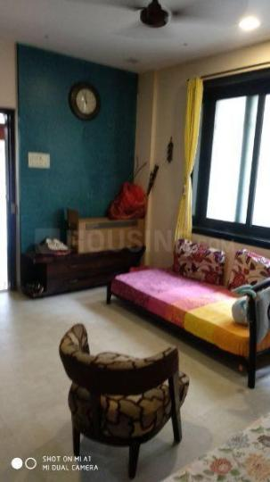 Living Room Image of 600 Sq.ft 1 BHK Apartment for buy in Colaba for 22500000