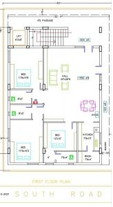 Gallery Cover Image of 2400 Sq.ft 3 BHK Independent Floor for buy in Dilsukh Nagar for 13500000