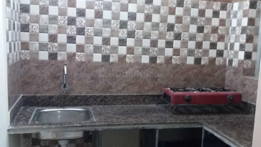 Kitchen Image of 500 Sq.ft 1 BHK Independent House for rent in Ballygunge for 10000