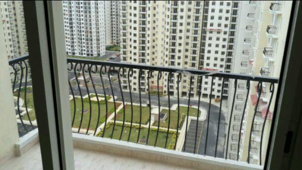 Living Room Image of 1421 Sq.ft 3 BHK Apartment for rent in DLF Westend Heights, Akshayanagar for 26000