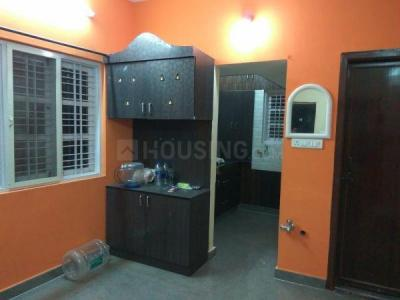 Gallery Cover Image of 550 Sq.ft 1 BHK Independent Floor for rent in Kaikondrahalli for 16500