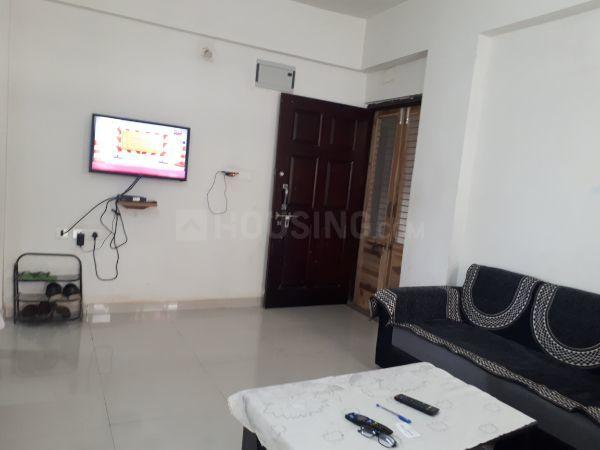 Living Room Image of 1260 Sq.ft 2 BHK Apartment for rent in Thaltej for 23000