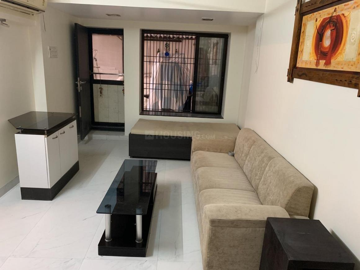 Living Room Image of 1100 Sq.ft 1 BHK Apartment for rent in Juhu for 65000