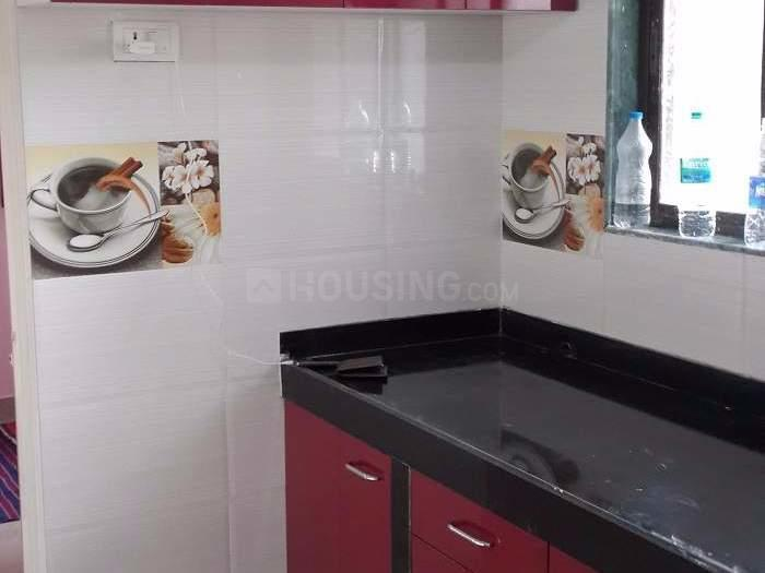 Kitchen Image of 600 Sq.ft 1 BHK Apartment for buy in Andheri East for 10300000