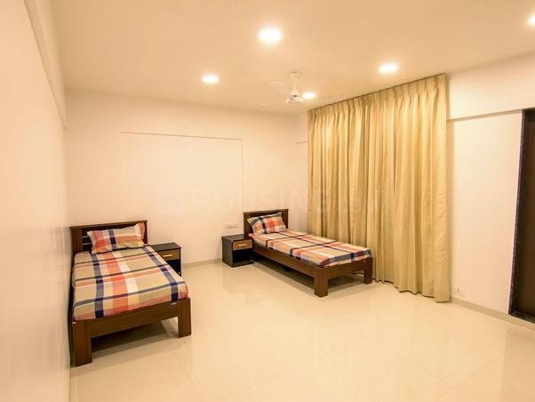 अंजनपुरा टाउनशिप  में कैपिटल जैंट्स पीजी के बेडरूम की तस्वीर