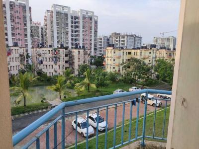 Gallery Cover Image of 600 Sq.ft 1 BHK Apartment for rent in New Town Society, New Town for 6500