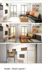 Gallery Cover Image of 310 Sq.ft 1 RK Apartment for buy in Marathon NeoHomes NeoSkies, Bhandup West for 4250000