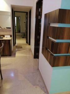 Gallery Cover Image of 1200 Sq.ft 3 BHK Apartment for rent in Romell Aether Wing B1, Goregaon East for 60000
