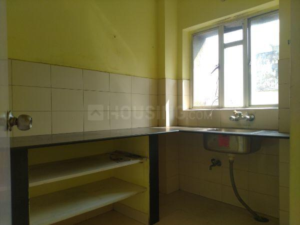 Kitchen Image of 1150 Sq.ft 3 BHK Apartment for rent in Space Clubtown Residency, Ariadaha for 20000