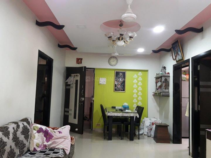 Living Room Image of 1050 Sq.ft 2 BHK Apartment for rent in Vashi for 40000