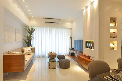 Gallery Cover Image of 910 Sq.ft 2 BHK Apartment for rent in Thane West for 23000