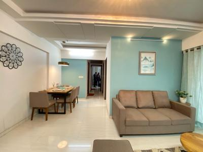 Living Room Image of 820 Sq.ft 2 BHK Apartment for buy in Triveni Crown, Kalyan West for 6160000