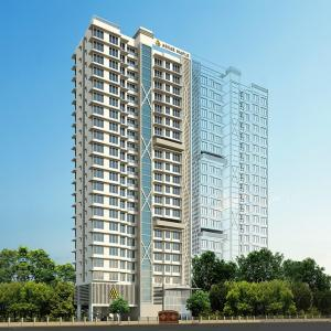 Gallery Cover Image of 424 Sq.ft 1 BHK Apartment for buy in Ashar Maple B Wing, Mulund West for 8600000
