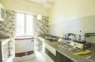 Kitchen Image of Buddha Ozone Flat No 103 in Mira Road East