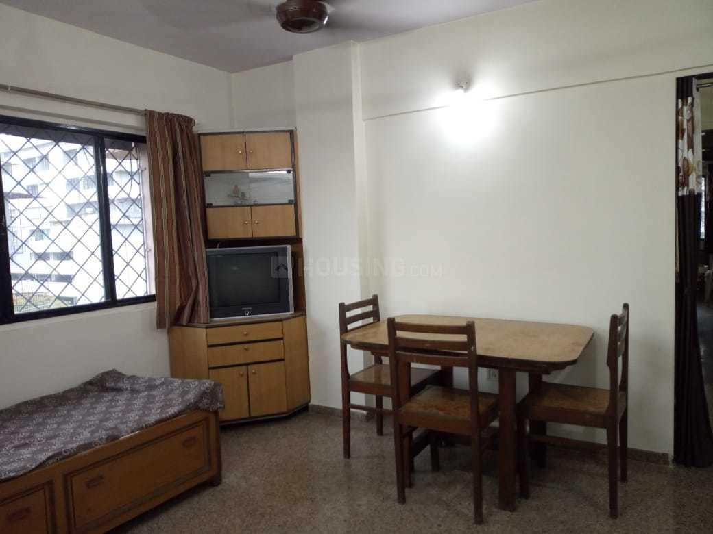 Living Room Image of 600 Sq.ft 1 BHK Apartment for rent in Andheri East for 32000