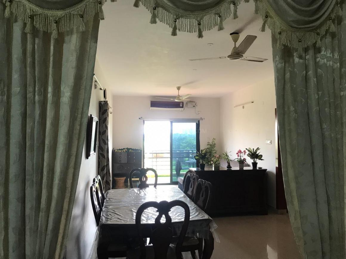 Living Room Image of 1655 Sq.ft 3 BHK Apartment for rent in Nallagandla for 30000