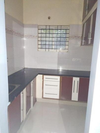 Kitchen Image of 650 Sq.ft 1 RK Independent House for rent in DLF Westend Heights, Akshayanagar for 7000