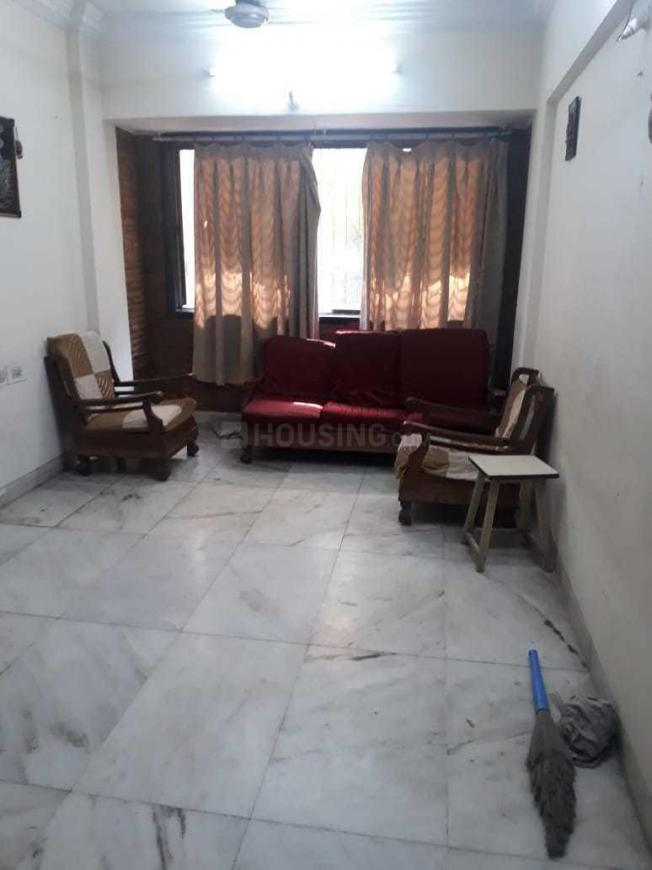 Living Room Image of 1200 Sq.ft 3 BHK Apartment for rent in Kopar Khairane for 38000