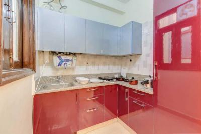 ग्रेटर कैलाश में एशु पीजी में किचन की तस्वीर