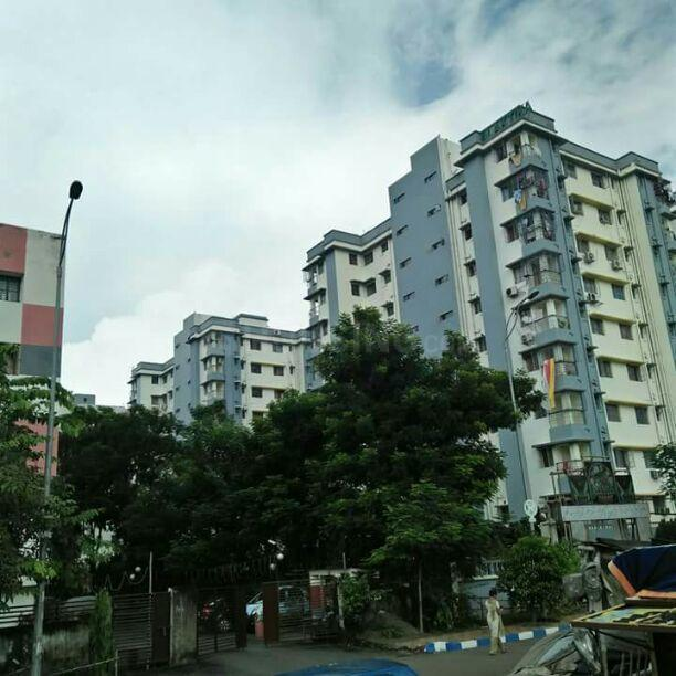 Building Image of 920 Sq.ft 2 BHK Apartment for rent in Rajarhat for 12000