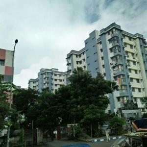 Gallery Cover Image of 920 Sq.ft 2 BHK Apartment for rent in Rajarhat for 12000