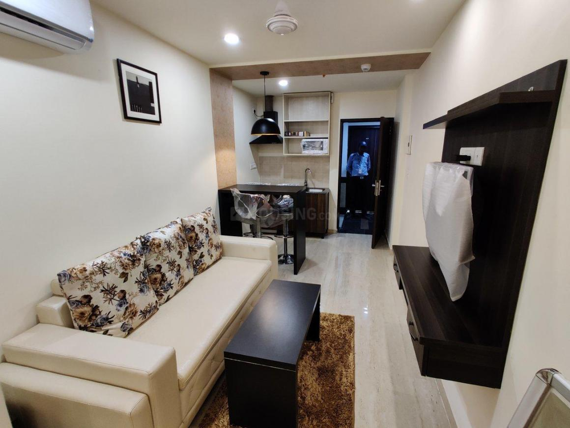 Living Room Image of 300 Sq.ft 1 RK Apartment for rent in Sector 67 for 23000