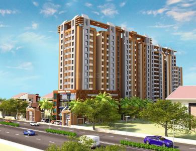 Gallery Cover Image of 1260 Sq.ft 2 BHK Apartment for buy in Takshashila Elegna, Ellisbridge for 6510000