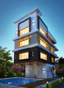 Gallery Cover Image of 1235 Sq.ft 2 BHK Apartment for buy in Nizampet for 5800000