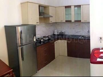 Gallery Cover Image of 700 Sq.ft 1 BHK Independent House for rent in Murugeshpalya for 13000