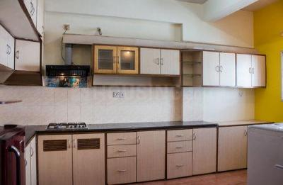 Kitchen Image of F 504 Aishwarya Lakeview Residency in Kaggadasapura