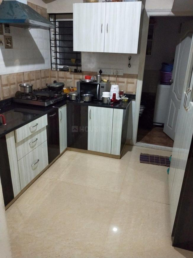 Kitchen Image of 1350 Sq.ft 3 BHK Apartment for rent in Bikasipura for 18000