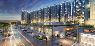 Gallery Cover Image of 750 Sq.ft 1 BHK Apartment for rent in Akshar Green World, Dighe for 19000