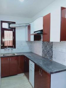 Gallery Cover Image of 550 Sq.ft 1 BHK Independent Floor for rent in Dwarka Mor for 7500