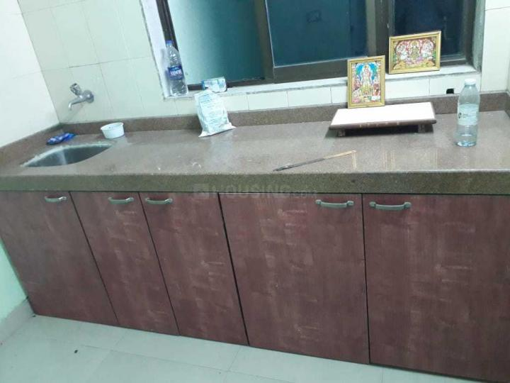 Kitchen Image of 600 Sq.ft 1 BHK Apartment for rent in Lower Parel for 35000