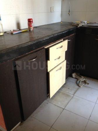 Kitchen Image of 956 Sq.ft 2 BHK Apartment for rent in New Town for 20000