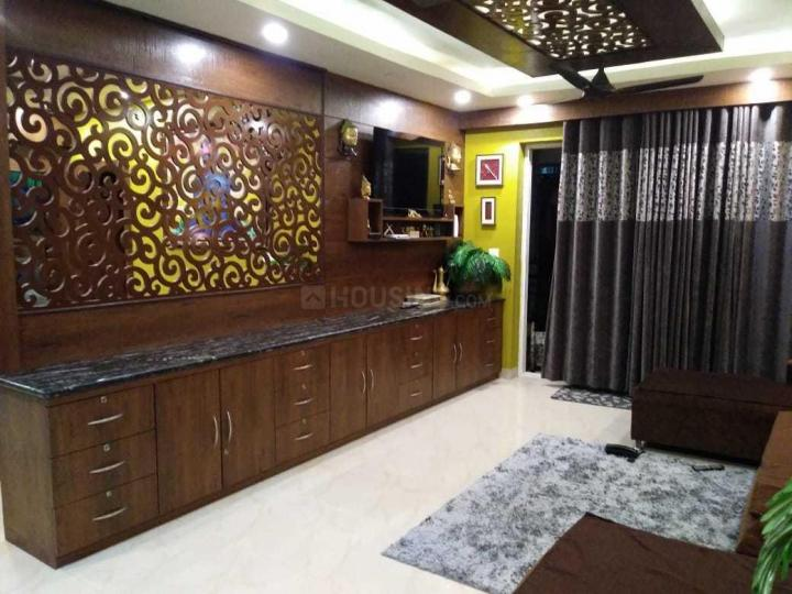 Living Room Image of 2123 Sq.ft 3 BHK Apartment for rent in Chinar Park for 50000