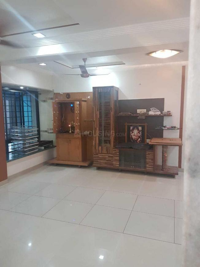 Living Room Image of 1600 Sq.ft 3 BHK Apartment for rent in Airoli for 38000