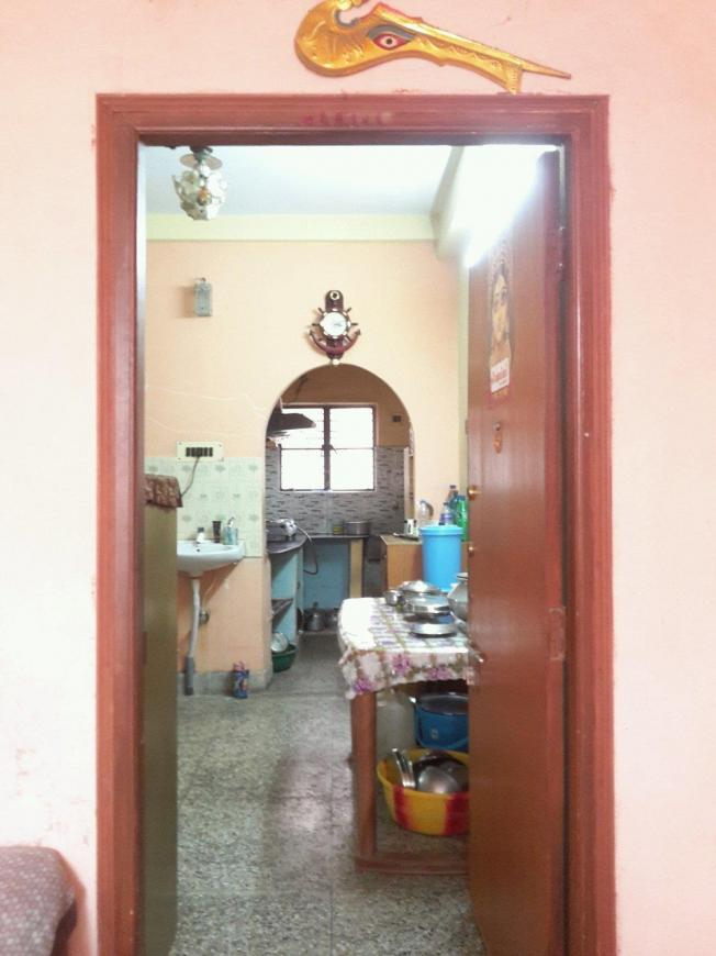Main Entrance Image of 700 Sq.ft 2 BHK Independent Floor for buy in Garia for 2300000